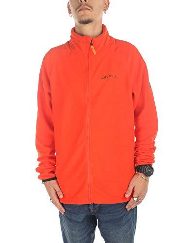 O'Neill Herren Fleecejacke Ventilator Fleece Jacket Shirts & Fleece, Bright Orange, XXL