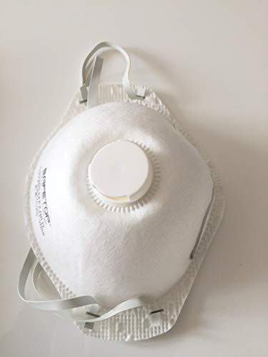 1x Atemschutzmaske FFP2 N95, Mundschutz mit Ventil, Maske wirksame Prophylaxe - 3