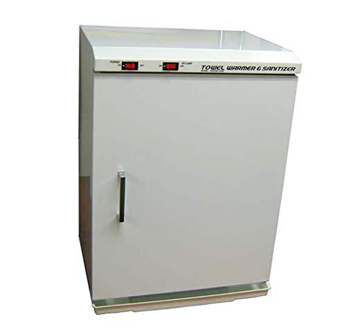 Pantin 40 Liter Capacity 3 Shelves Hot Towel Warmer Cabinet for Hair Salon, Beauty SPA, Restaurant & Home - 120V, 200W (Made in Korea)