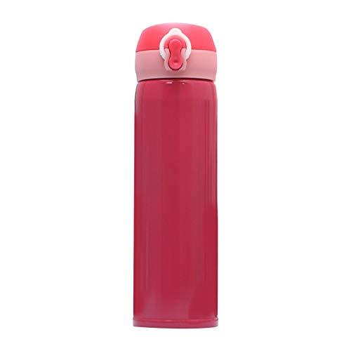 XINGYAO Taza de viaje de 500 ml, para oficina, café, té, mantener caliente, botella de agua, termo para mantener el agua caliente, taza de agua, botella de deportes y decoración (color: C)