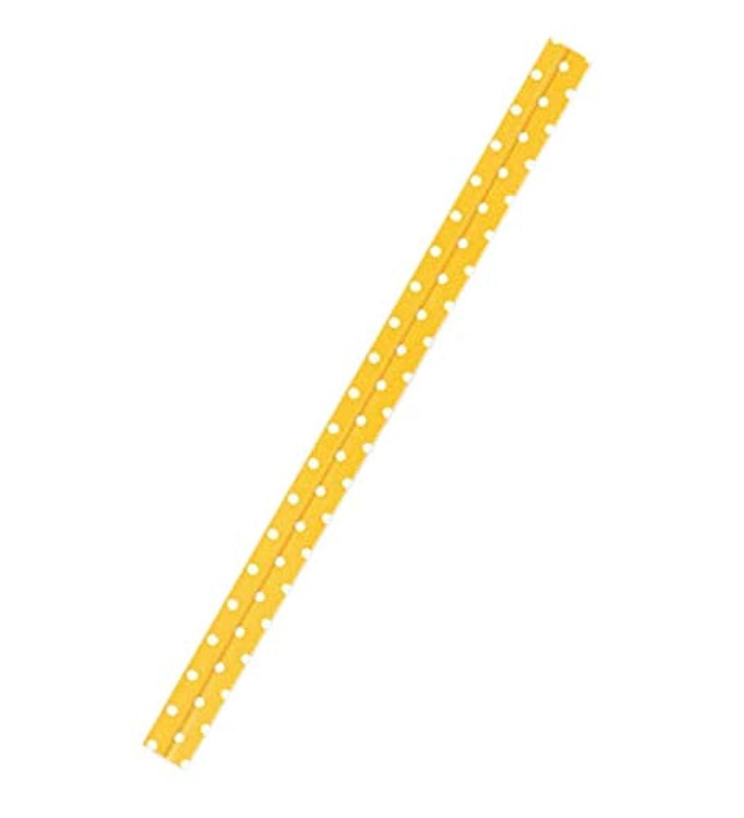 応用アンテナブースHEIKO ポップタイ 8mm幅×12cm D-3 レモン 30本入り/62-0989-64