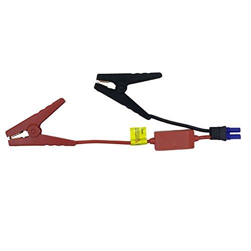 EC5 Jump Starter, Qutaway Ersatz EC5 Stecker Notfall Lead Jumper Kabel Alligator Klemme Booster Akku Clips für Autos mit Sicherheit Schutz Box