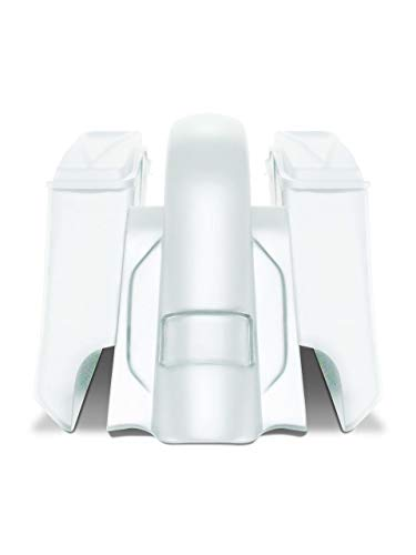 Best Deals! Harley Davidson 6 down and 9 out angle saddlebags and Replacement fender for 98-08 tou...