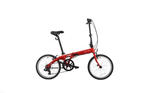 Dahon VYBE D7 Bicicleta Plegable, Deportes y Aire Libre, Rojo