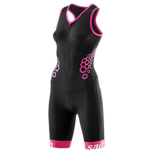 Sailfish Damen Trisuit Comp (Pink, XS)