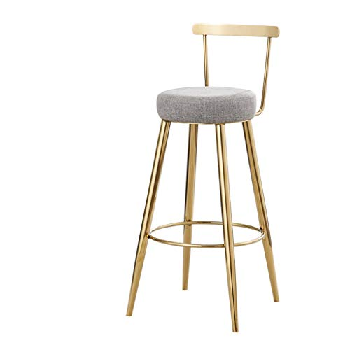 75CM hoge stoel, kruk, barstoel, kassierstoel, rugleuning, barkruk, huis, eenvoudig, hoge stoel, mode, casual, creatief