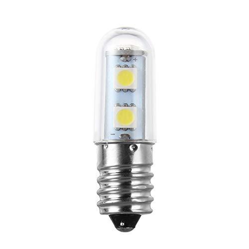 QiKun-Home Mini E14 1W 7 LED 5050 SMD Naturaleza/Luz Blanca cálida para máquina de Coser Lámpara de refrigerador 110V / 220V Bombilla LED Blanco Puro