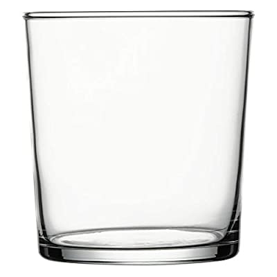 "Sumi 13 oz Double Old Fashioned Glass - 3 1/4"" x 3 1/4"" x 3 1/2"" - 6 count box - Restaurantware"