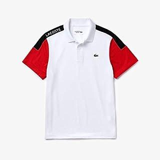 ラコステ(LACOSTE) 高機能ピケ仕様カラーブロックポロシャツ
