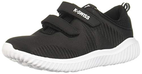 K-Swiss Tenis KORE Kids Zapatillas de Deporte Exterior para Niños, Color Negro, 13