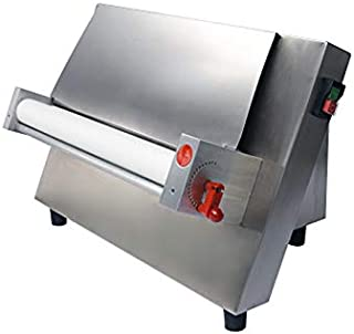 CHEF PROSENTIALS 110 Volt Electric dough sheeter Commercial 18 inch single rollers Stainless steel dough press machine pasta maker wholesales