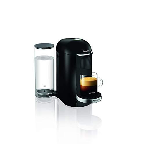 Breville-Nespresso USA VertuoPlus Deluxe Coffee and Espresso Machine, Black (Renewed)