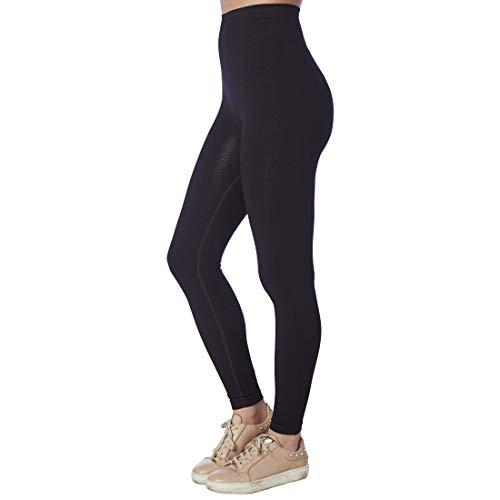 CzSalus Summer Time Lipedema, Lymphedema Support Slimming Lighter Weight Medium Compression Flat Knit Leggings, M