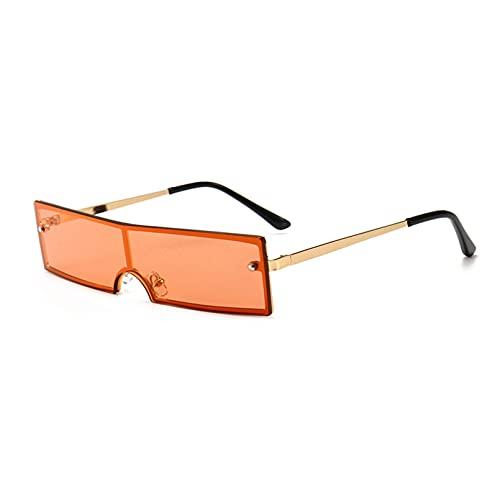 LUOXUEFEI Gafas De Sol Gafas De Sol Rectangulares Pequeñas Para Hombre, Gafas De Sol Cuadradas Negras Para Mujer