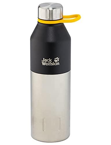 Jack Wolfskin Unisex– Erwachsene Kole Trinkflasche, Black, One Size