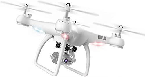 JJDSN Drone con cámara 4K, Control por Voz, cuadricóptero RC de Video Gran Angular en Tiempo Real con función de retención de Altura, función de Sensor de Gravedad, despegue/Aterrizaje con un