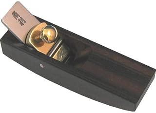 KAKURI Wood Working Japanese Plane, Manual Ebony Wood Mini Kanna Wood Planer, 1.0 × 3.6 × 1.3 inches