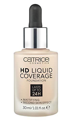 Catrice Make-up HD Liquid Coverage Foundation Light Beige 10, 150 g