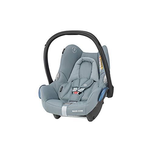 Maxi-Cosi CabrioFix Silla coche bebé, silla de auto infantil reclinable y de alta seguridad, portabebé 0 - 12 meses, 0 - 13 kg, Essential Grey, gris