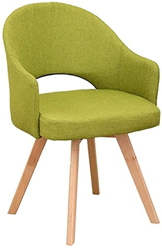 Taburete de bar de madera maciza, silla de comedor para el hogar, taburete de madera simple y moderno, mesa de comedor y silla, 2 colores (color: azul) (color: verde)