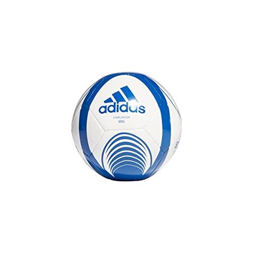 Adidas GU0244 STARLANCER Mini Balón, Unisex-Youth, Blanco/AZUREA (Blanco), Talla Única