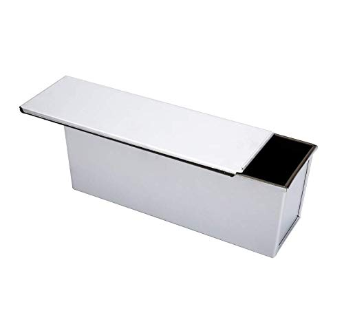 TA BEST Loaf Pan w Lid Pullman Bread Pan w hole - Aluminumed Steel Commercial Grade Non Stick Loaf Baking Pan, L¡ÁW¡ÁH(13x4.5x4.8)