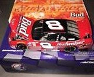 Dale Jr #8 Dale Earnhardt Jr Budweiser 1999 Chevrolet Monte Carlo 1/24 Scale Diecast Hood Opens Trunk Opens Limited Edition Rookie Paint Scheme