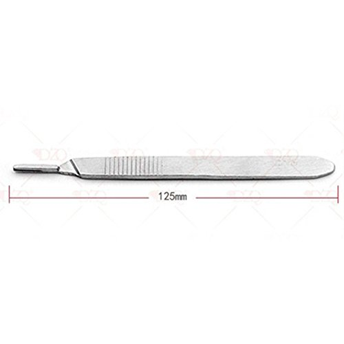No.3 Scalpel Handle Surgical Scalpel Handle for Blades Scalpel Handle No. 3 for Blades 10 Fits Stainless Steel Blade Hilt Professional Plastic Hilt Domestic Handle