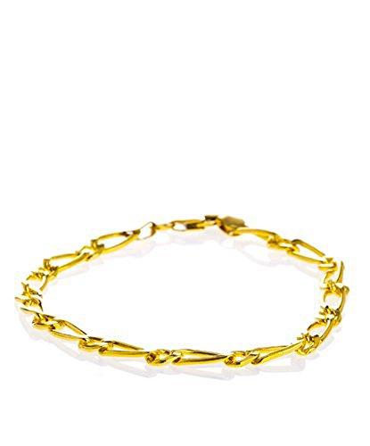 Córdoba Jewels Armband van verguld verguld 14/20 design Cartier 1x1
