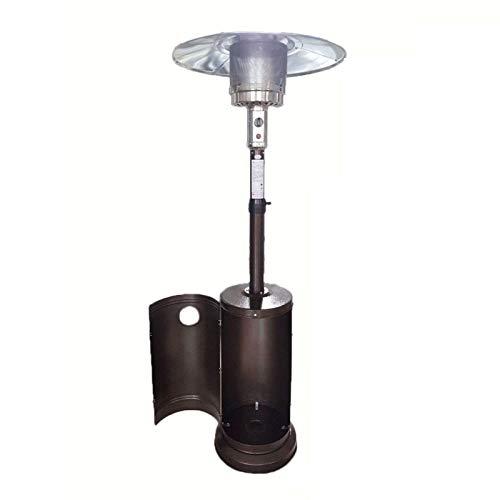 YILANJUN Calefactor de Terraza de Sombrilla de Gas Licuado/Gas Natural, Calefaccion Independiente, Calentador de Patio, 7 Especificaciones