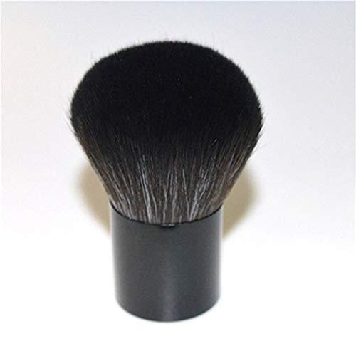 1 Pièces vie quotidienne cosmétiques utiles Outils Poignée noire pinceaux de maquillage pour les femmes Grand Sleek pas cher Big ovale,Noir