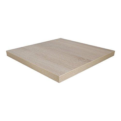 Dekorspanplatte Bardolino Eiche Natur Spanplatte als Tischplatte, Schreibtischplatte, Laden- & Möbelbau, Maße: 70 x 50 cm, Stärke: 19 mm