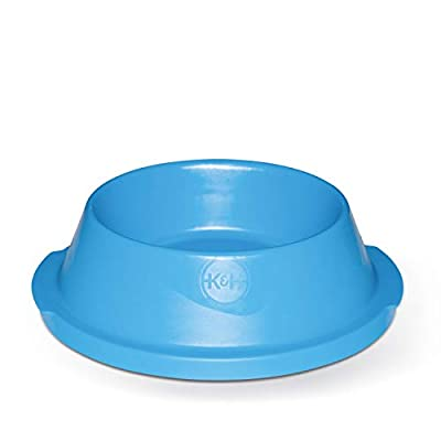 K&H Pet Products Coolin' Pet Bowl 32oz. Sky Blue - Fresh Cool Water For Your Pet!