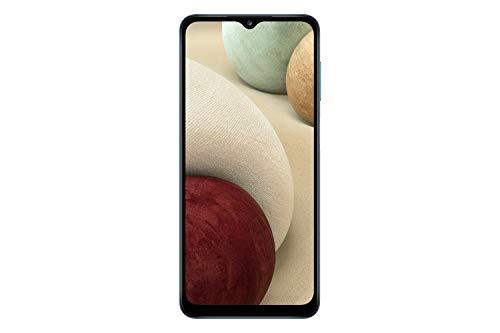 Samsung Galaxy A12 (SM-A125F DS) Dual SIM,128 GB, Factory Unlocked GSM, International Version - No Warranty - Blue