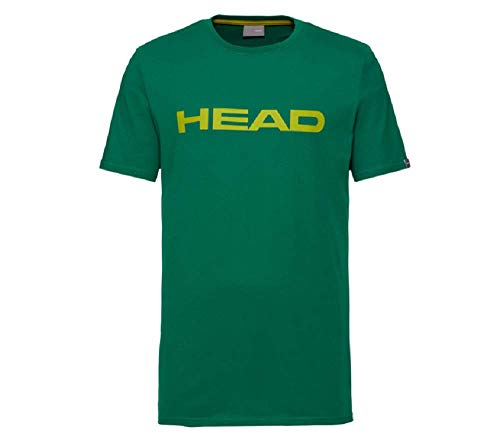HEAD Herren Club Ivan T-Shirt M, grün/Gelb, Large