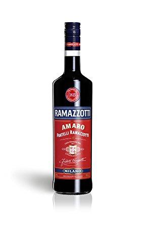 Ramazzotti Amaro – Der italienische Digestif mit 33 verschiedenen Kräutern – Absacker mit perfekter bittersüßen Note – 1 x 1 L