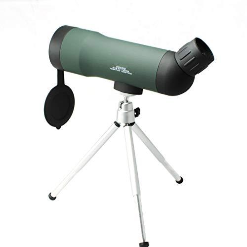 Robust 20x50 High Definition Monocular-Teleskop Fogproof monokulare for Wildvogelbeobachtung Camping Wild secenery mit Stativ Geringes Gewicht