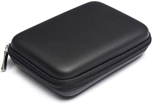 Topdo Funda para Disco Duro Externo 2.5' para Toshiba Canvio Basics/Seagate Backup Plus Slim/WD Western Digital My Passport Ultra Elements Disco Duro Externo portátil Cajas 1TB 2TB USB 3.0 Negro