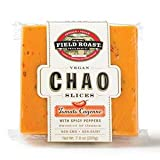 Field Roast Tomato Cayenne Chao Slices 7 Oz (4 Pack)
