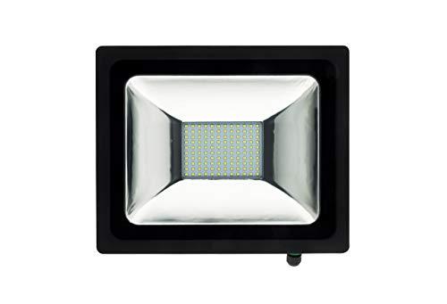 elexity 499906 Projecteur LED, 50 W, Noir