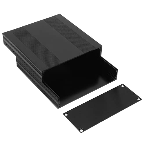 Material de aleación de aluminio resistente al desgaste Tipo dividido Caja de bricolaje Caja de aluminio Caja de placa de circuito impreso para disipación de calor Carcasa de aluminio