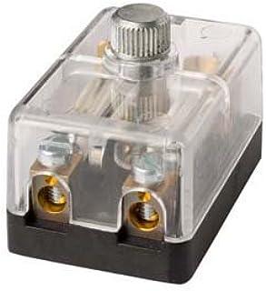 HELLA 8JD 002 289 211 Sicherungsdose   2 polig   8A   glasklar   Stecker: Schraubkontakt   mit Sicherung