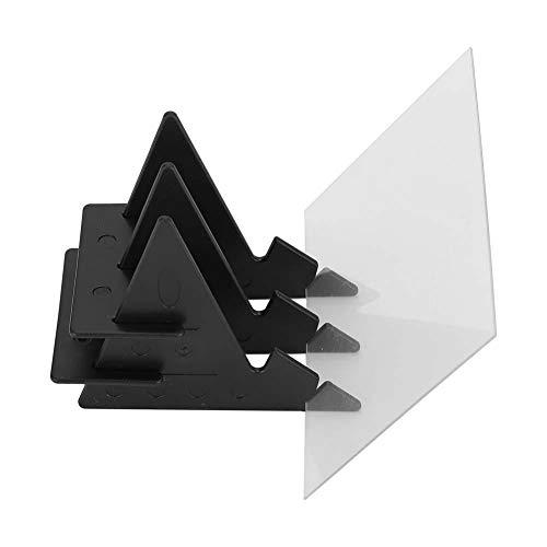 Schets Tekentafel IP65 Waterproof Tracing Tekentafel Schilderen Schrijven Schets Reflectie Spiegel met beugel voor kinderen Studenten Volwassenen Kunstenaars Beginners(7 inch)