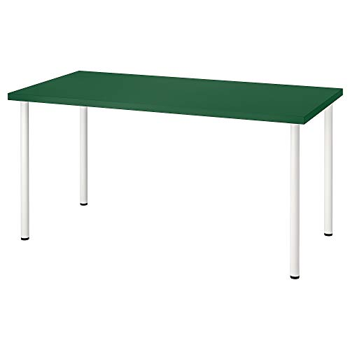 Mesa LINNMON/ADILS 75x74 cm verde/blanco