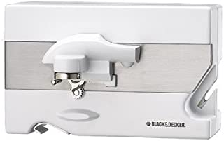 Black & Decker CO85 Spacemaker Can Opener, White