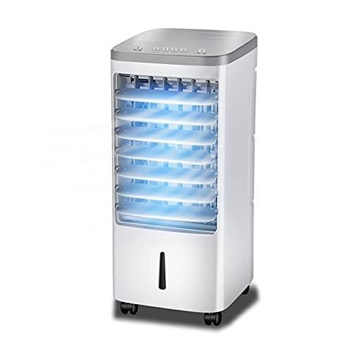 GYF Aire Acondicionado,Ventilador De Aire Acondicionado, Aire Acondicionado,Ventilador Sin Aspas para Hogar Y Oficina,Blanco 25X28X58 CM