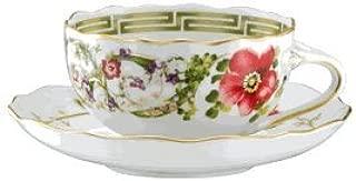 Versace Flower Fantasy Tea Cup