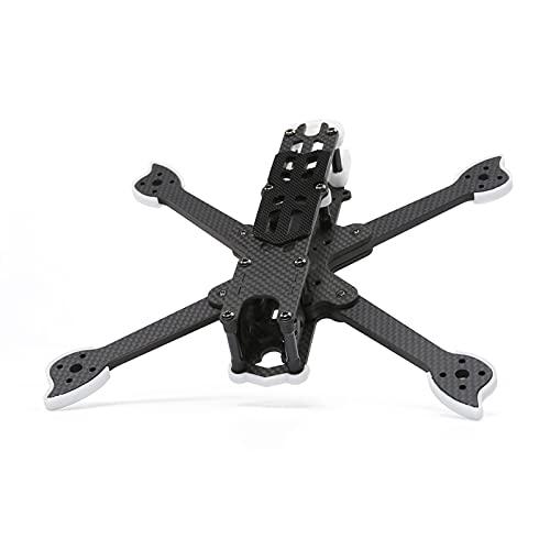 DingPeng For Ifill Cidora SL5 V2.1 HD 21 Rack DRON de Fibra de Carbono de 7 mm 5 Pulgadas FPV Kit de Marco de Estilo Libre de 5,5 mm for el Brazo para FPV Racing Drone Quadcopter Accessories Parts