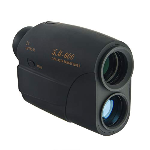 Aigrous Golf Rangefinder Ranging Up to 600 Yards, with Only 1 Yard Accuracy, 7 X Magnification Lens Used in Golf Sport, Racing, Archery, Survey,Hunting and Laser Distance Meter
