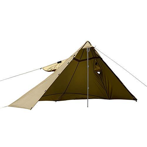 OneTigris militärischer Regenponcho Shelter Multifunktionale Poncho Taktische Regenmantel Outdoor Regencape |MEHRWEG Verpackung